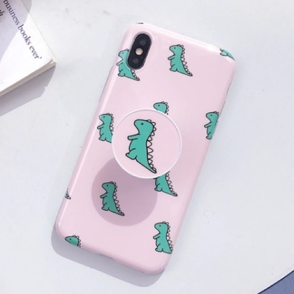 iphone xs max case with pop socket